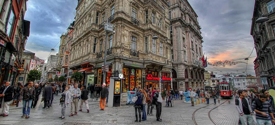 خیابان بویوک دره استانبول