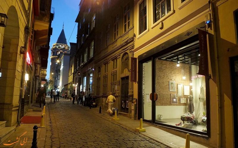 خیابان کوکورکوما استانبول